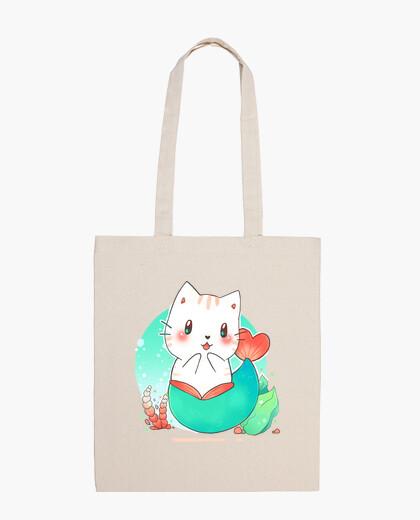 Bolsa Mermaid cat - gato sirena