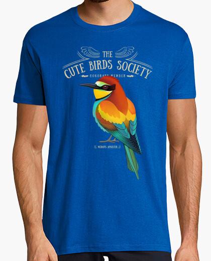 Camiseta Merops apiaster on dark