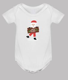 Merry Christmas body bebé Navidad