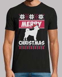 merry christmas dog