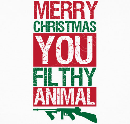 Merry Christmas You Filthy Animals.Merry Christmas You Filthy Animal Home Alone T Shirt