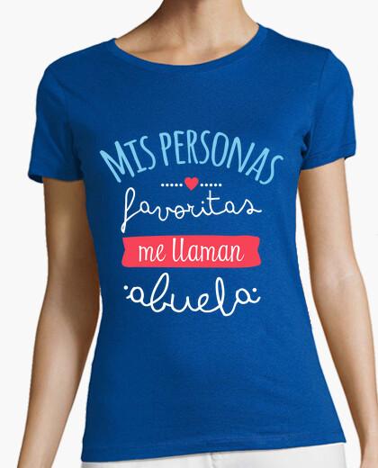 Tee-shirt mes personnes préférées me appellent grand-mère