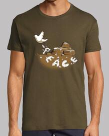 messaggero di pace (marrone)