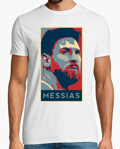 Camiseta Messi FCB White