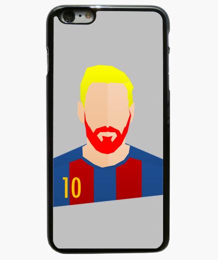 Funda iPhone 6 Plus / 6S Plus Messi minimalist