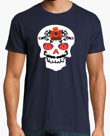 T-shirt messicano skull
