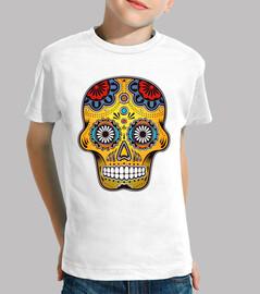 messico colorato skull
