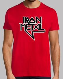 métal de fer (noir blanc)