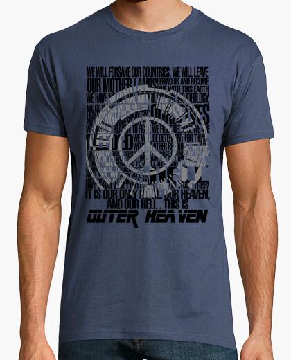 Camiseta Metal Gear Solid - Peace Walker