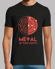 métal jusqu'à votre église
