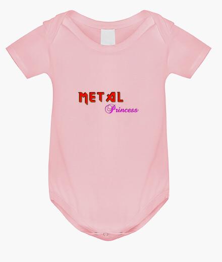 Abbigliamento bambino metal principessa