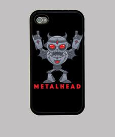 metalhead - robot diable en métal lourd