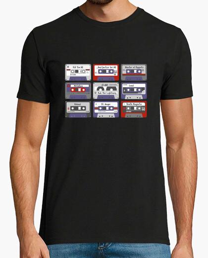 Camiseta Metallica cassettes.
