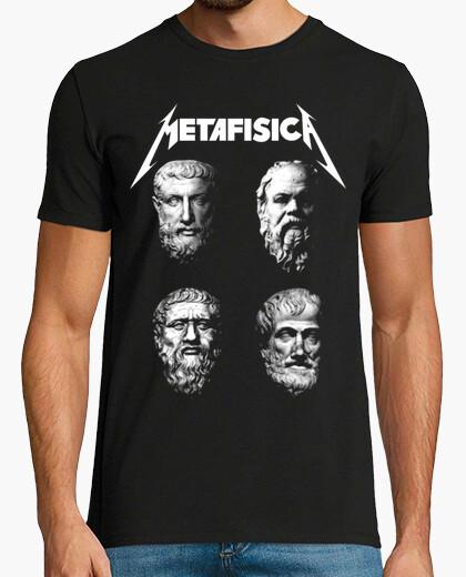 Tee-shirt métaphysique - philosophes rocher