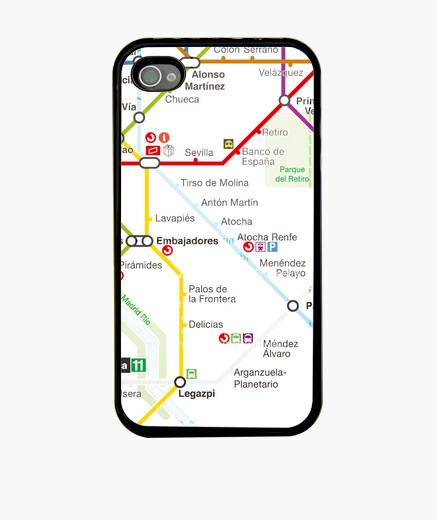 Funda iPhone Metro