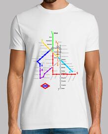 Metro Madrid blanco