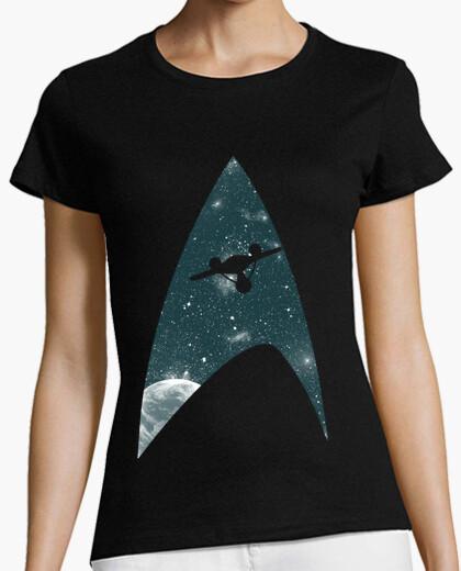 Tee-shirt mettre fin à la frontière de l'espace