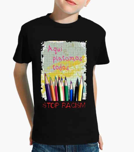 Vêtements enfant mettre fin au racisme