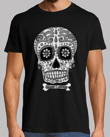 mexican black and white skull !!!
