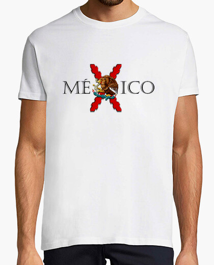 Mexico (combined with cross and eagle) t-shirt