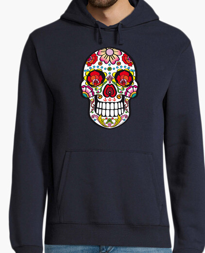 Mexico skull, t-shirts milky savoy hoodie