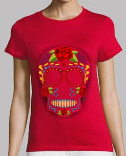 mexikanischer zuckerschädel art !!!