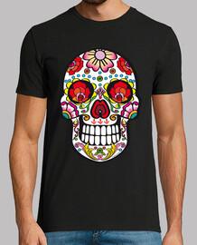 mexiko schädel, milch savoy-t-shirts