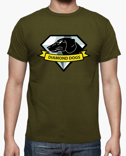 Mgs5 diamond dogs logo t-shirt