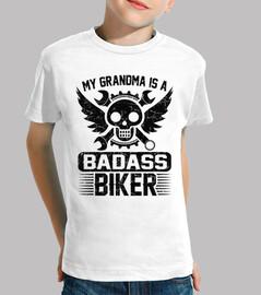mi abuela es una biker rudo