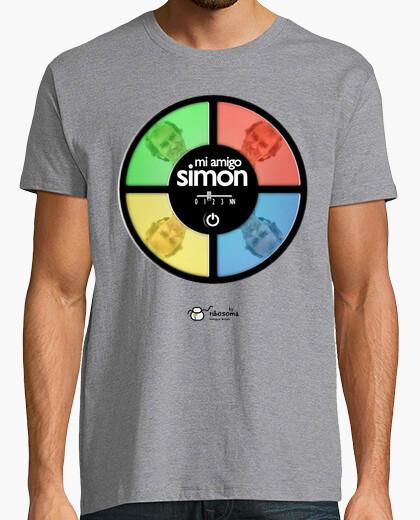 Camiseta Mi amigo Simón fondos claros