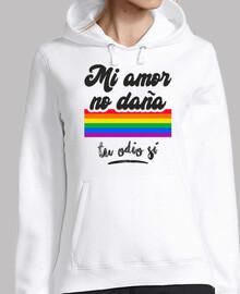Mi Amor No Daña, Tu Odio Sí (Fondo Clar