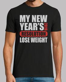 mi año nuevo resolución 2019 perder pes
