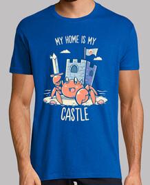 mi casa es mi castillo - camisa para hombre