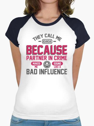 T-shirt mi chiamano gigi