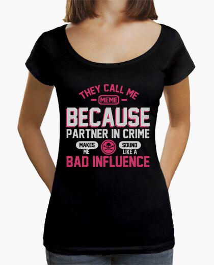 T-shirt mi chiamano meme
