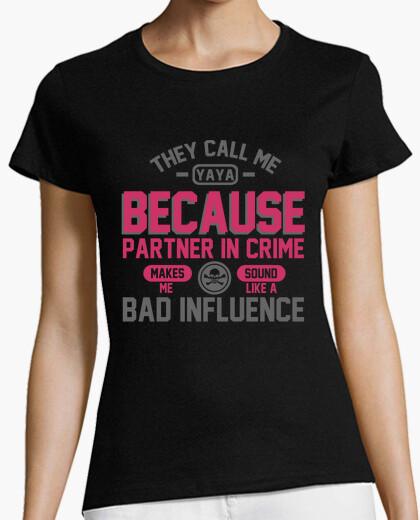 T-shirt mi chiamano yaya