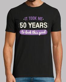 mi ci sono voluti 50 anni per look esta good