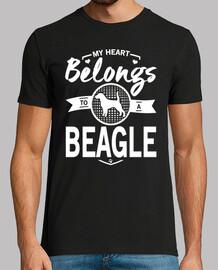 mi corazón pertenece a un beagle