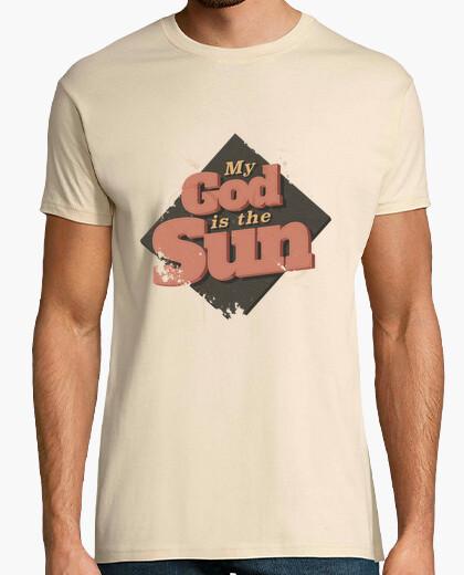 Camiseta mi dios es el hombre la camisa del sol