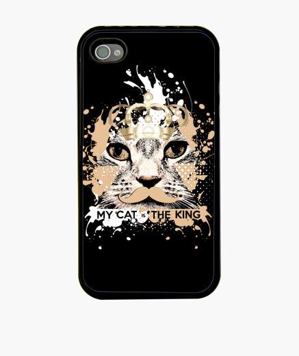 Funda iPhone mi gato es el rey