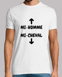 Mi Homme Mi Cheval / Humour