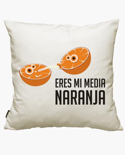 Funda cojín Mi media naranja