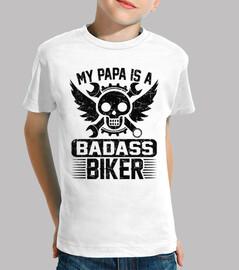 mi papa es un biker rudo