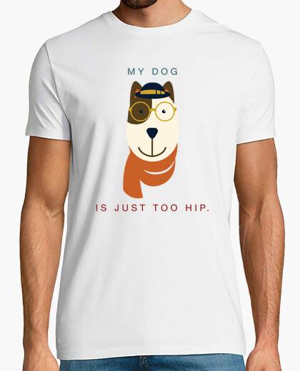 Camiseta Mi perro es hipster 1