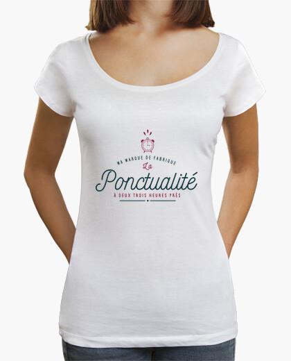Camiseta mi puntualidad marca comercial