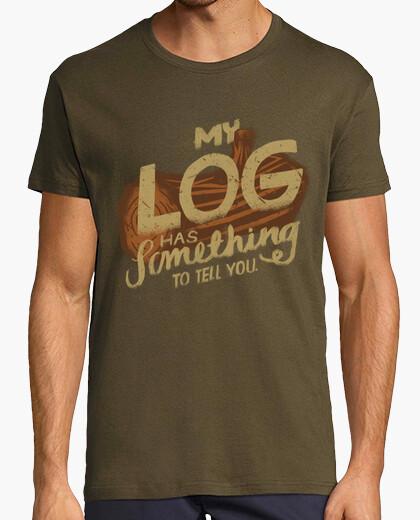 Camiseta mi registro tiene algo que decir