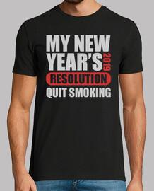 mi resolución de 2019 de año nuevo dejó