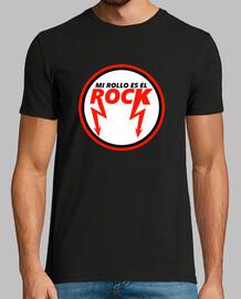 Mi Rollo Es el Rock (Hombre, Manga Corta)