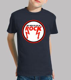 Mi Rollo Es el Rock (Niño, Manga Corta)