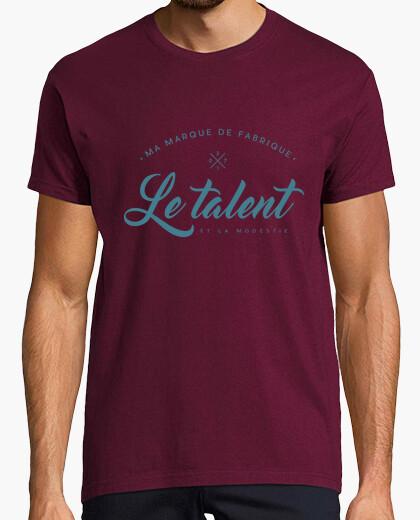 Camiseta mi talento marca comercial
